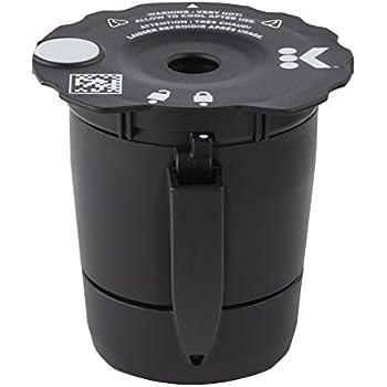 Keurig My K-Cup Universal Reusable Coffee Filter, Black (New Model)
