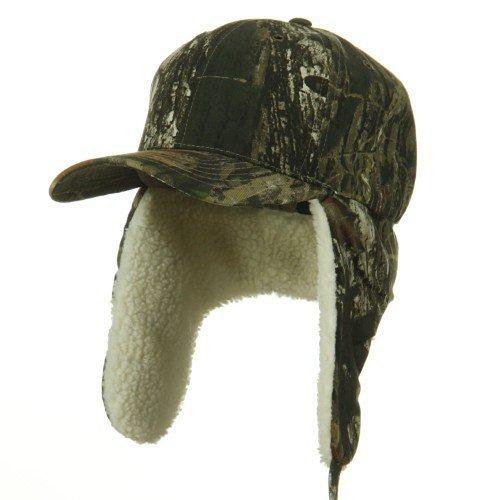 Mossy Oak Winter Flap Cap -Mossy Oak S-M (Cotton Flap E4hats Hat)