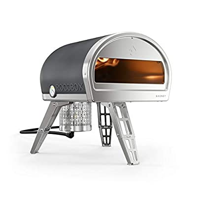 ROCCBOX by Gozney Portable Outdoor Pizza Oven - Gas Fired, Fire & Stone Outdoor Pizza Oven, Includes Professional Grade Pizza Peel
