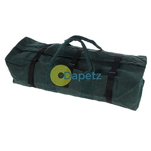 Dapetz ® 30' Heavy Duty Canvas Tool Bag/Camping/ Holdall Rope Handle