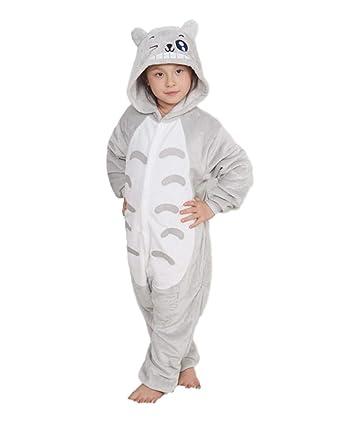 Amazon.com  SSJ Children Sleepwear Kigurumi Totoro Style Cat Pajama  Chinchira  Clothing d686026f9e75a