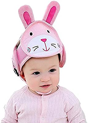Baby Toddler Head Protective Safety Helmet Hat Headguard Anti-collision JC z!