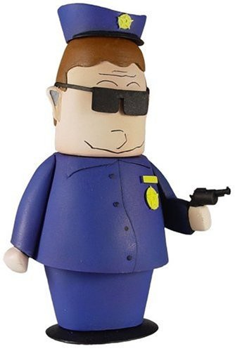 (South Park Figure: Officer Barbrady by Mezco )