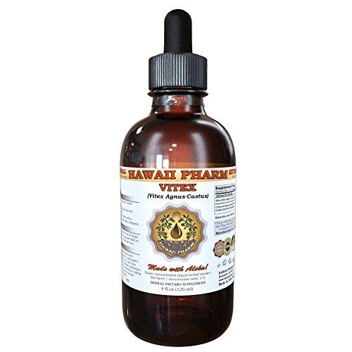 - Vitex Liquid Extract, Organic Vitex (Vitex Agnus-Castus) Tincture 4 oz by HawaiiPharm