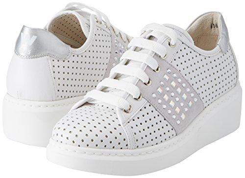 Mujer Walk Bianco Blanco Melluso Zapatillas Techno Donna bianco Para xU8qRX8