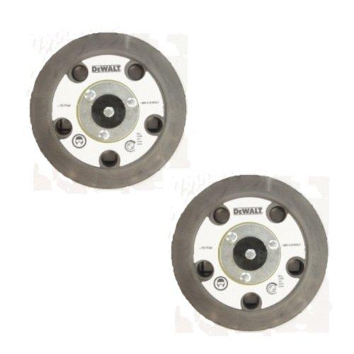 DeWALT DWE6401DS Shroud Replacement (2 Pack) 13904 Velcro 5'' Backing Pad (5 Holes) # N121668-2pk by Black & Decker