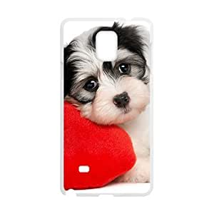 Cute Little Dog Red Love Heart Phone Case for Diy For SamSung Note 3 Case Cover