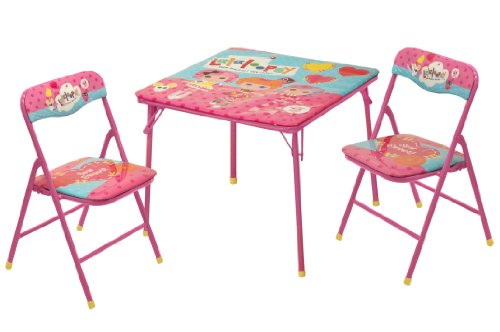 Lalaloopsy Square Table and Chair Set, 3-Pack by Lalaloopsy