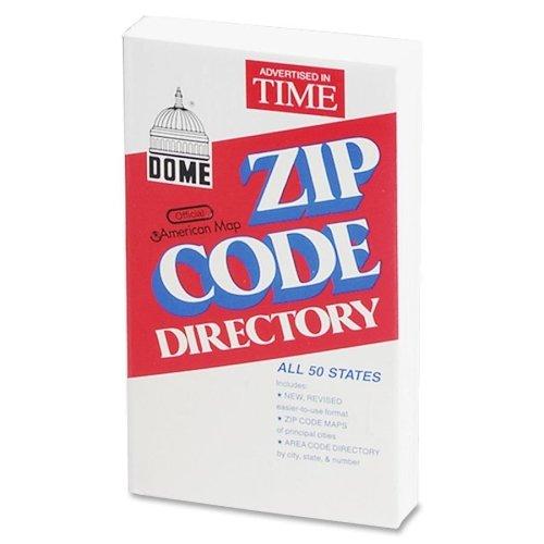 Dome 5100 Zip Code Directory, Paperback, 750 ()