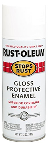 (Rust-Oleum 7792830-6PK Stops Rust Spray Paint, 12-Ounce, Gloss White,)