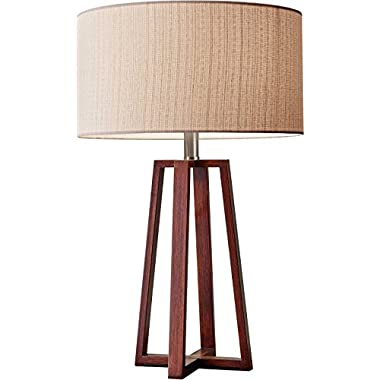 Adesso 1503-15 Quinn Table Lamp, Walnut