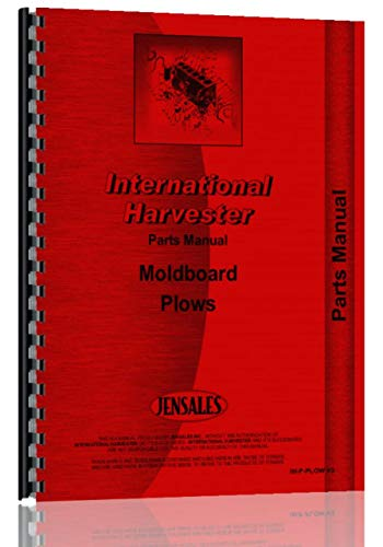 International Harvester 710 Plow Parts Manual ()