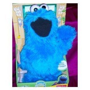 Cookie Monster 18 Full Body Hand Puppet Doll Sesame Street
