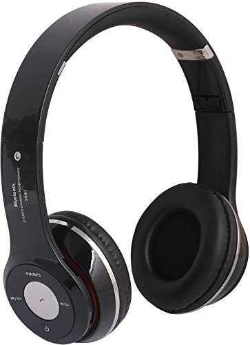 Like Star S460 Wireless Bluetooth Headphone with Mic Over Ear