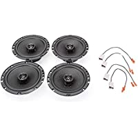1990-1994 Subaru Legacy Complete Premium Factory Replacement Speaker Package by Skar Audio