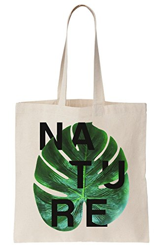 Of Palm Composition Bag Leaf Typography Cool Green Canvas Nature And Tote xYEqw5RA