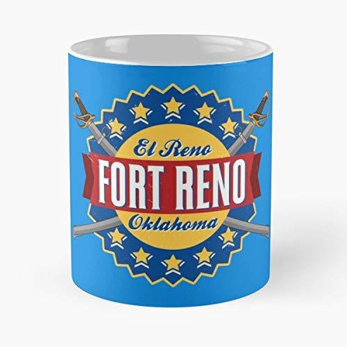 Fort Reno Oklahoma El Funny Floral Coffee Mugs Gifts