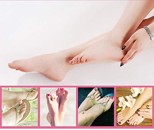 DOMILI Callus Remover Rechargeable Electronic Foot Files Pedicure Tools Pedi Feet Care Perfect for Hard Cracked Skin