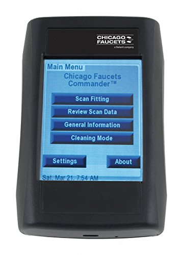 - Chicago FAUCETS CFC Service Remote for for 2-Way Communication with Hytronic, E-Tronic and Galileo Series Electronic