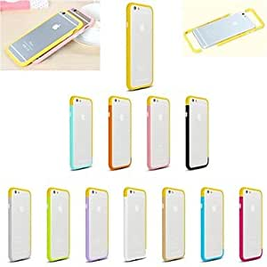 LCJ iPhone 6 compatible Solid Color/Mixed Color/Special Design Bumper Frame , 2