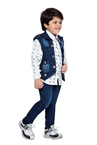 1bb3719ca AJ DEZINES Boy s Cotton Party Wear Clothing Set  Amazon.in  Clothing    Accessories