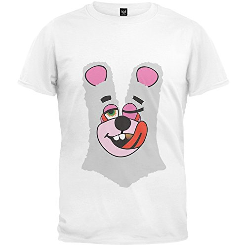 Twerk Bear White Costume T-Shirt Inspired by Miley Cyrus, 2013 VMAs - Medium
