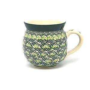 Polish Pottery Mug – 11 oz. Bubble – Irish Meadow