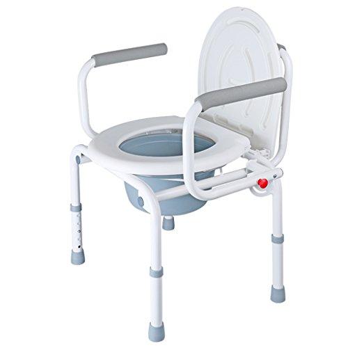 Chaise Pliante Pliante Avec Siege De Toilette Et Seau Chaise De Bain
