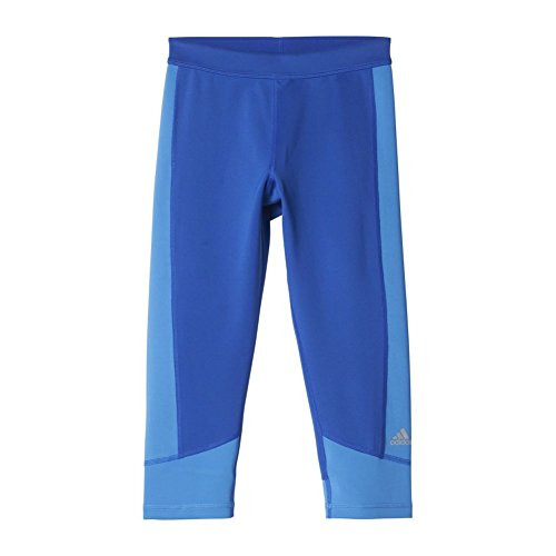 adidas Women's Techfit Capris, Bold Blue/Ray Blue, X-Small by adidas (Image #2)