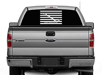 Navy Jack - Don't Tread On Me - Large Die Cut Vinyl Graphic for Car, Truck or Van Windows - Merica