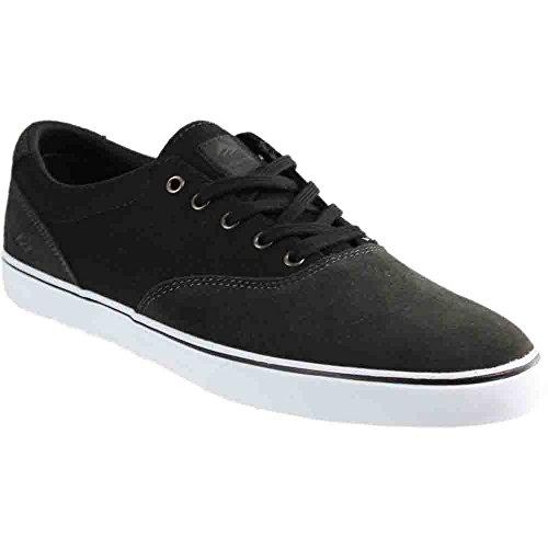 Emerica Provost Slim Vulc Skate Shoe,Grey/Black,11