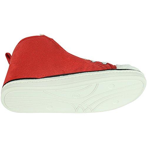 Slippers Outdoor Blush High Sneaker Mens Christmas Indoor Warm Gohom Winter Top qvazwRWBI