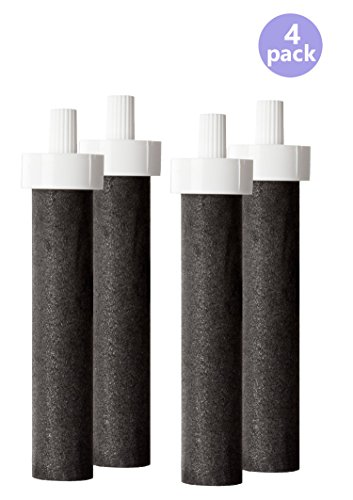 Brita Water Filter Bottle Replacement Filters, (4 Count) (Brita Water Filter 4 Pack compare prices)