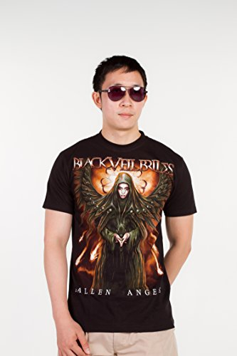 [Black Veil Brides (Fallen Angels) 1211 Size S Small New! T-shirt] (Black Veil Brides Fallen Angel Costume)