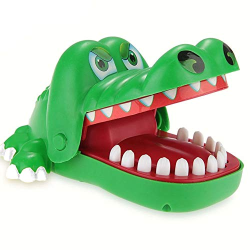 Crocodile Teeth Toys Game for Kids, Crocodile Biting Finger Dentist Games Funny Toys, Ages 4 and Up]()