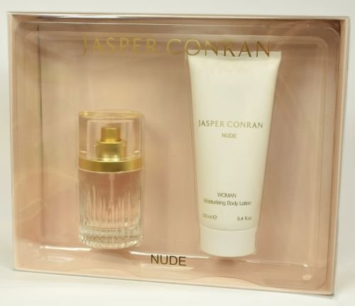Jasper Conran Nude 40ml EDP Gift Set with 100ml Moisituring body lotion by J By Jasper Conran
