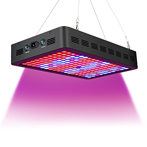 Stansen 900W led Grow Light, Full Spectrum Indoor Grow Lights for Medicinal Plants Veg&Flower in Greenhouse Tent Plant(Using 90 Degree Double Lenses