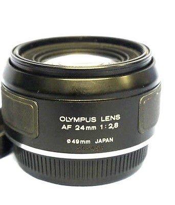 Olympus AF 24 mm f2 . 8広角レンズfor om77、om707、om88、om101 SLRフィルムカメラ   B0195O543E