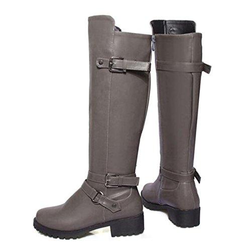 clásicas gris Solshine botas clásicas Mujer Solshine Mujer botas gris pnY8wAq