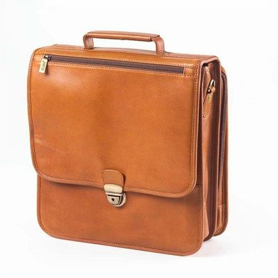 (Clava Upright Vertical Brief - Tuscan Tan)