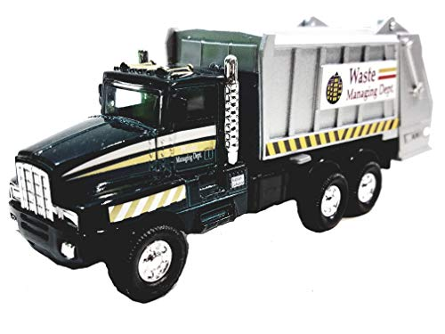 (Green Garbage Truck Recycle/Waste Management Dept 6