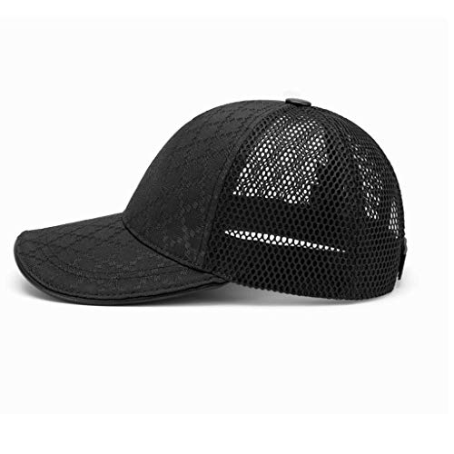 SLH 夏通気性ネット帽子男性屋外ドライスピードメッシュレディース野球帽日陰帽子