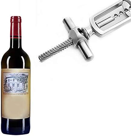 MAGELIYA Sacacorchos Aleación de Zinc Botella de Vino Tinto Sacacorchos Extractor de Corcho Champán