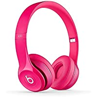 Beats Solo2 Solo 2 Dr Dre Wired On-Ear Headphone - Pink - New in Sealed Retail Package. (Certified Refurbished)