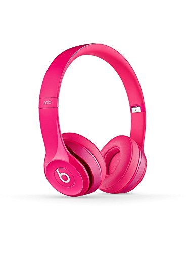 Beats Solo2 Solo 2 Dr Dre Wired On-Ear Headphone - Pink - New in Sealed Retail Package. (Certified Refurbished) by Beats