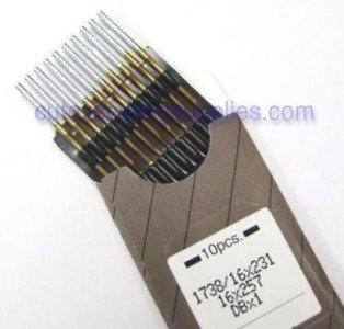 Size 22 metric 140 100 DBX1 16X231 16X257 1738 TITANIUM Industrial Sewing Machine Needles