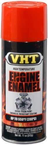 VHT SP123 Engine Enamel Chevy Orange Can - 11 oz.