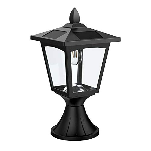 Solar Post Lights Outdoor, Solar Lamp Post Lights for Pathway, Driveway, Front/Back Door, Pack 1 (Outdoor Solar Lamp Post Lights)