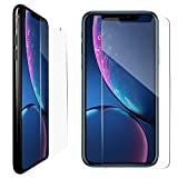 """Vilso iPhone XR Screen Protectors [Pack of 3] 1 x Anti-Spy Privacy Screen Protector + 2 x Tempered Glass Screen Protector 6.1 """", Anti-Scratch, Bubble Free, Highest Protection"""