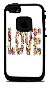 """Love in Flowers Vinyl Decal Sticker for iPhone 6 (4.7"""") Lifeproof Case"""
